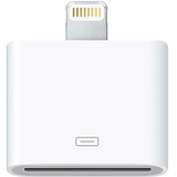 4XEM 8-Pin Lightning To 30-Pin Adapter for iPhone/iPod/iPad