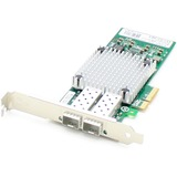 AddOncomputer.com Gigabit Ethernet NIC Card with 2 Open SFP Slots PCIe x4