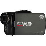 "HP t250 Digital Camcorder - 3"" - Touchscreen LCD HPT250BLACK"