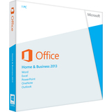 Microsoft Office 2013 Home and Business 32/64-bit - Complete Product - 1 PC, 1 User AAA-02675