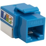 4XEM Cat5e RJ45 Keystone Jack UTP 110-Type (Blue)
