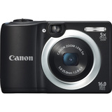Canon PowerShot A1400 16 Megapixel Compact Camera - Black 8115B005