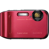 Sony Cyber-shot DSC-TF1 16.1 Megapixel Compact Camera - Red DSCTF1R