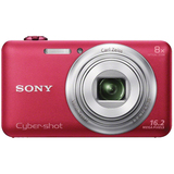 Sony Cyber-shot DSC-WX80 16.2 Megapixel Compact Camera - Red DSCWX80R