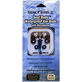 Seal Shield Seal Buds Waterproof Ear Buds with Antimicrobial Product Protection SSEM2
