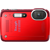 Olympus Tough TG-630 iHS 12 Megapixel Compact Camera - Red V104110RU000