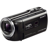 "Sony Handycam HDR-PJ380V Digital Camcorder - 3"" - Touchscreen LCD - Exmor R CMOS - Full HD - Black HDRPJ380VB"