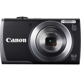Canon PowerShot A3500IS 16 Megapixel Compact Camera - Black 8156B023