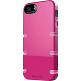Qmadix Groove Cover Apple iPhone 5, Pink-Pink