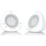 iharmonix QM-QI-SOUND-WH 2.0 Speaker System - 2.4 W RMS - Wireless Speaker(s) - White