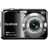 Fujifilm FinePix AX650 16 Megapixel Compact Camera - Black 16277992