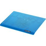 Cooler Master NotePal I100 - Ultra-Slim Laptop Cooling Pad with 140mm Silent Fan - Blue