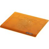 Cooler Master NotePal I100 - Ultra-Slim Laptop Cooling Pad with 140mm Silent Fan - Orange (R9-NBC-I1HO-GP)