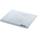 Cooler Master NotePal I100 - Ultra-Slim Laptop Cooling Pad with 140mm Silent Fan - White
