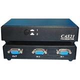 4XEM 2-Port VGA/SVGA Manual Switch