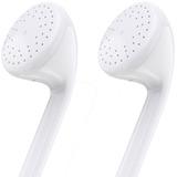 4XEM Premium Series Apple Type Earphones With Controller For iPhone/iPod/iPad