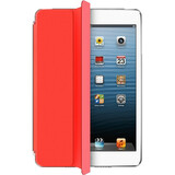 """Aluratek Slim Color Cover Case (Cover) for 7.9"""" iPad mini, Tablet - Apple Red"""