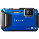 Panasonic Lumix DMC-TS5 16.1 Megapixel Compact Camera - Blue DMCTS5A