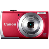 Canon PowerShot A2500 16 Megapixel Compact Camera - Red