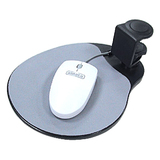 Aidata Under Desk Swivel Ergonomic Mouse Platform Black Via Ergoguys