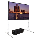 "Da-Lite Fast-Fold Deluxe Projection Screen - 193.5"" - 16:9 - Portable 39310"
