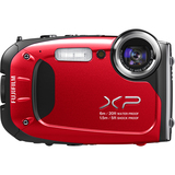 Fujifilm FinePix XP60 16.4 Megapixel Compact Camera - Red 600012583