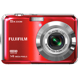 Fujifilm FinePix AX600 14 Megapixel Compact Camera - Red 600012481