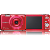Fujifilm FinePix JX600 14 Megapixel Compact Camera - Red 600012635