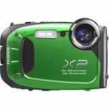 Fujifilm FinePix XP60 16.4 Megapixel Compact Camera - Green 600012585