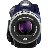 "JVC Everio GZ-E300 Digital Camcorder - 3"" - Touchscreen LCD - CMOS - Full HD - Blue"