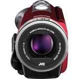"JVC Everio GZ-EX310 Digital Camcorder - 3"" - Touchscreen LCD - CMOS - Full HD - Red"