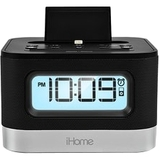 iHome iPL10 Desktop Clock Radio - Apple Dock Interface - Proprietary Interface iPL10