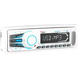 Boss Audio MR1308UAB Marine Single-DIN MECH-LESS Receiver, Bluetooth, Detachable Front Panel, Wireless Remote