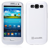Lenmar Battery Case for Samsung Galaxy S III, 2000mAh, White