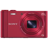 Sony Cyber-shot DSC-WX300 18.2 Megapixel Compact Camera - Red DSCWX300R