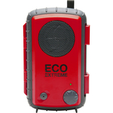 Grace Digital ECOXGEAR Eco Extreme GDI-AQCSE107 Rugged Waterproof Case with Built-in Speaker for Smartphones(Red)