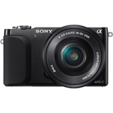 Sony α NEX NEX-3N 16.1 Megapixel Mirrorless Camera (Body with Lens Kit) - 16 mm - 50 mm - Black NEX3NLB