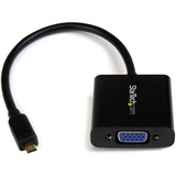 StarTech.com Micro HDMI to VGA Adapter Converter for Smartphones / Ultrabook / Tablet - 1920x1200 MCHD2VGAE2