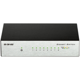 D-Link 8-Port Gigabit Unmanaged Metal Desktop Switch GO-SW-8GE