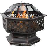 Blue Rhino WAD1377SP Wood Fireplace