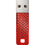SanDisk Cruzer Facet 4 GB USB 2.0 Flash Drive - Red SDCZ55004G-B35SR