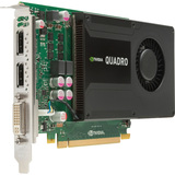 HP Quadro K2000 Graphic Card - 2 GB GDDR5 SDRAM - PCI Express 2.0 x16 C2J93AA
