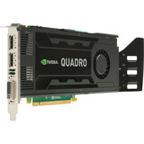 HP Quadro K4000 Graphic Card - 3 GB GDDR5 SDRAM - PCI Express 2.0 x16 - Full-height C2J94AA