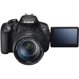 Canon EOS Rebel T5i 18 Megapixel Digital SLR Camera (Body with Lens Kit) - 18 mm - 135 mm
