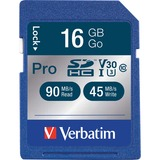 Verbatim 16GB 600X Pro SDHC Memory Card, UHS-1 Class 10
