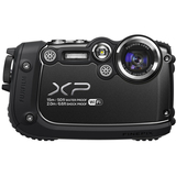 Fujifilm FinePix XP200 16.4 Megapixel Compact Camera - Black - 16316891