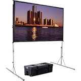 "Da-Lite Fast-Fold Deluxe Manual Projection Screen - 114"" - 16:10 - Portable 38304"
