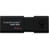 Kingston 64GB DataTraveler 100 G3 USB 3.0 Flash Drive DT100G3/64GBCR