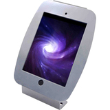 "MacLocks Introducing ""Space"" Mini - iPad Mini Enclosure Kiosk - Silver"