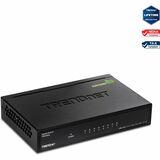 TRENDnet 8-Port Gigabit GREENnet Switch TEG-S82G